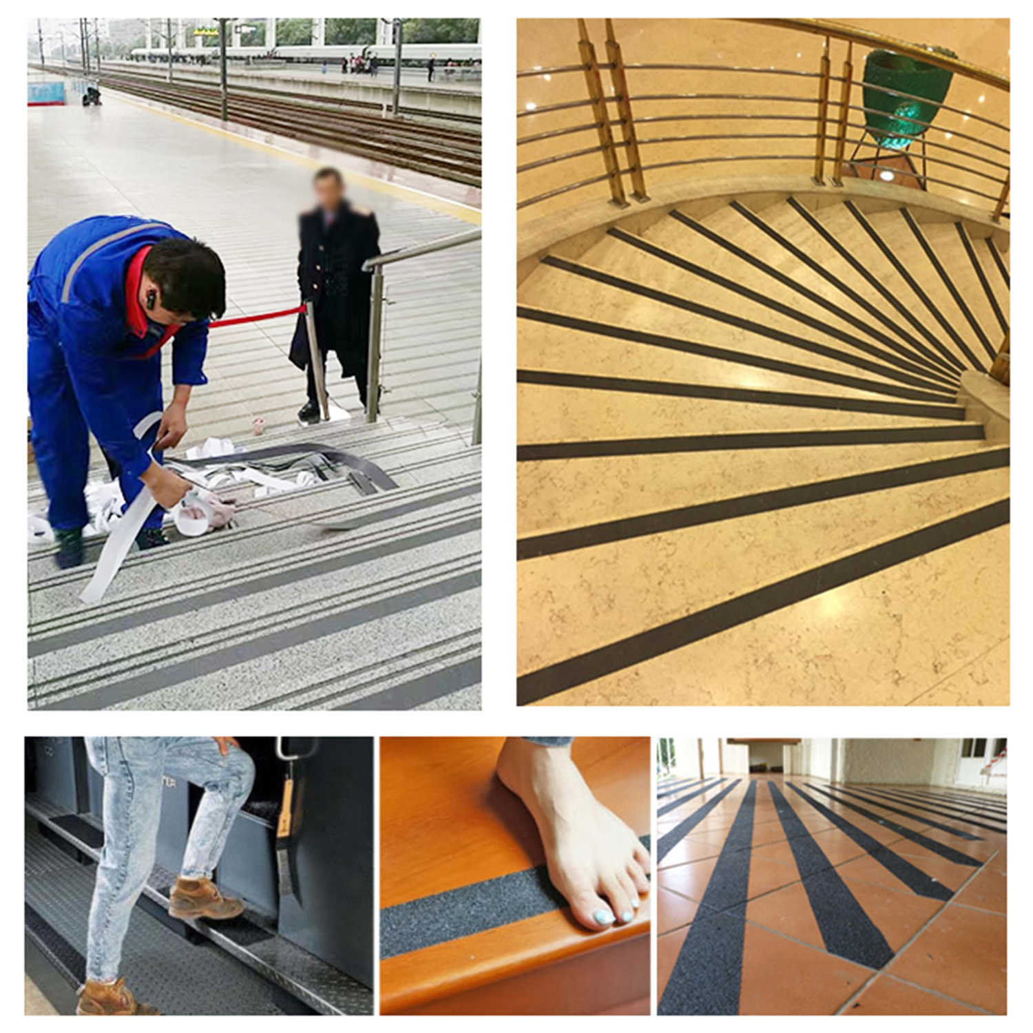 Diy Anti Slip Grip Tape Safety Non Slip Traction Tapes Adhesive Grip For Indoor Ladder Floor Outdoor Walkways Stair Tread Step Tape Aliexpress