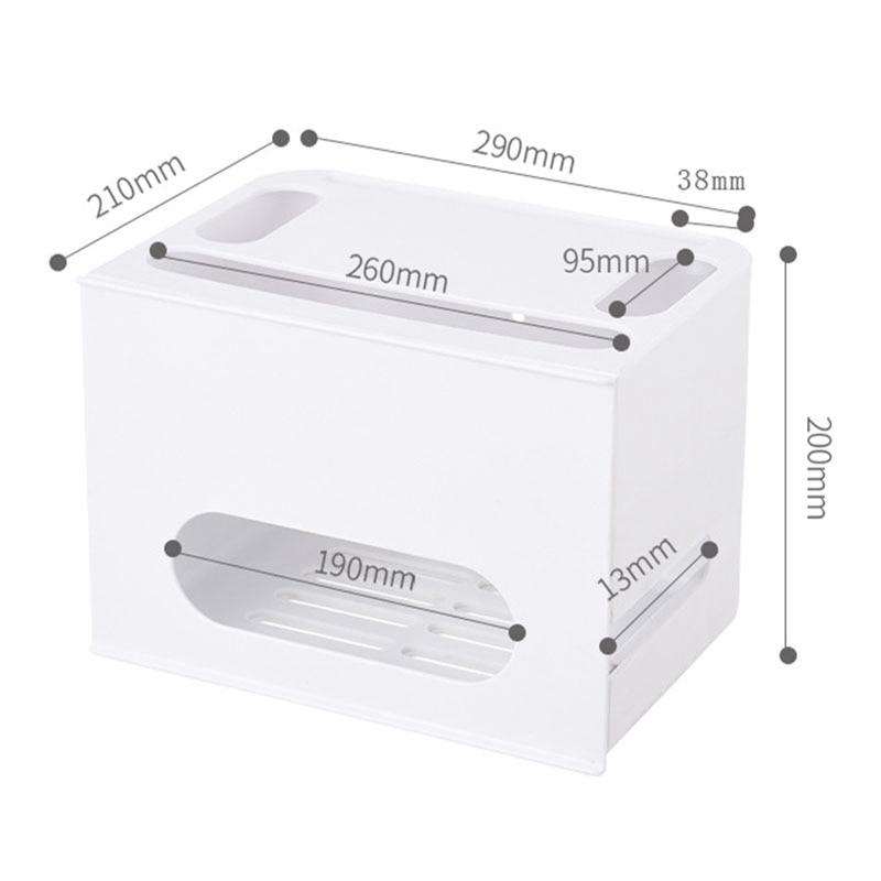 2-Двухслойный ящик типа беспроводной WIFI маршрутизатор коробка для хранения штепсельная плата кронштейн Кабельный органайзер для хранения смотреть на Алиэкспресс Иркутск в рублях