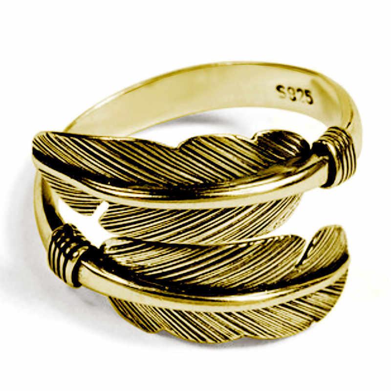 נוצת חץ אצבע טבעת עתיק מתכוונן נירוסטה טבעת פאנק מסיבת היפ הופ טבעת להקות Anillos דה פלטה