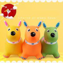 Надувной прыгающий щенок Inpany надувной собачий Хоппер прыгающие игрушки животных для детей