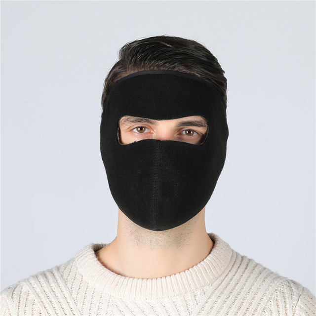 Balaclava Winter Outdoor Neck Motorcycle Face Mask Face Shield Tactical Mask Warm Ski Snowboarding Wind Cap Police Cycling 3