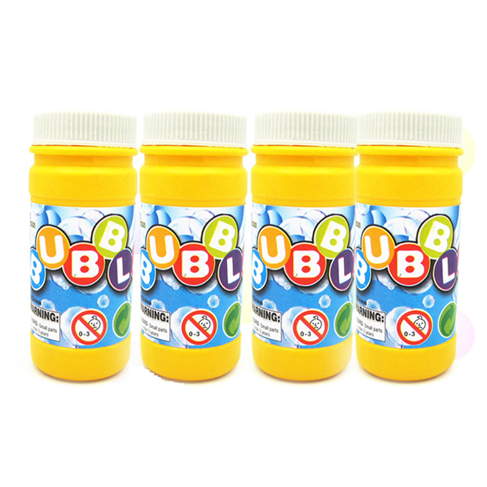 50ML Bubble Solution Mixture Machine Blower Ready Mixed Refill Liquid Fluid Accessories Kids Toys Brinquedos Juguetes New Jouet