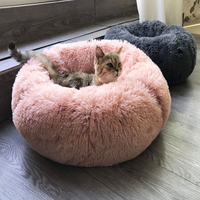 Comfortable Donut Bed For Dogs And Cats