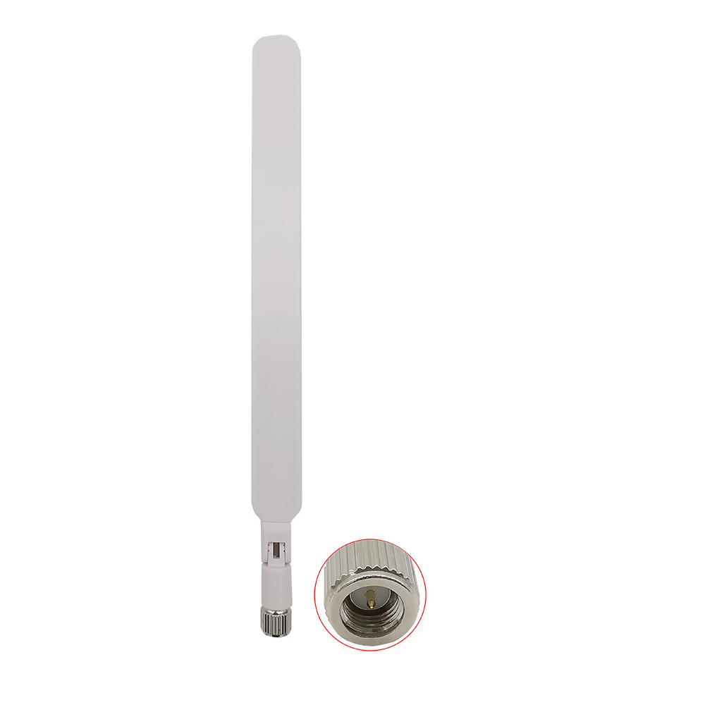 5dbi 4G LTE Rubber Duck Antenna SMA With SMA Male to Female Adapter 4G Router