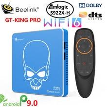 Beelink GT-KING PRO WiFi 6 Amlogic S922X Smart Android 9,0 TV Box 4 Гб DDR4 64 Гб ROM Dolby Audio DTS 4K HD Hi-Fi медиаплеер