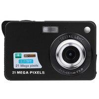 2.7HD экран Цифровая камера 21 МП анти-встряхивание распознавание лица видеокамера Макс 21 мегапиксель анти-встряхивание 8x цифровой зум 5 мегап...