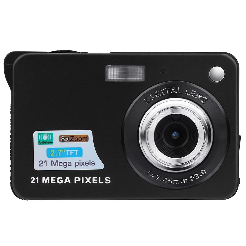 2.7HD Screen Digital Camera 21MP Anti-Shake Face Detection Camcorder Max 21 Megapixels Anti-shake 8x Digital Zoom 5 Mega Pixel