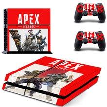 APEX Legends стиль наклейка кожи наклейка для PS4 Playstation 4 консоли пленка+ 2 шт. контроллеры Защитная крышка DPTM2464