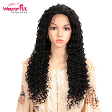 WA...WONDERFUL Deep Wave 13X4 Lace Front Wig M Remy Human Hair Wigs Natural Color 8-28 Inch  WH LACE DIY DEEP