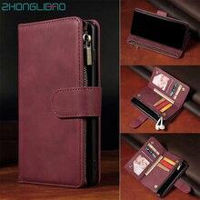 SE 2020 Luxus Flip Brieftasche Fall für IPhone 11 Pro Max X XS Max XR 6 6s 7 8 plus Magnetic Karte Leder Telefon Abdeckung Tasche SE2020