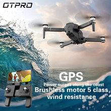 OTPRO WIFI FPV Com 3 F1 eixo Cardan 1080P Câmera GPS 28 4K minutos de Tempo de Vôo RC Drone Quadcopter RTF BRINQUEDOS de PRESENTE VS FIMI X8 SE A3