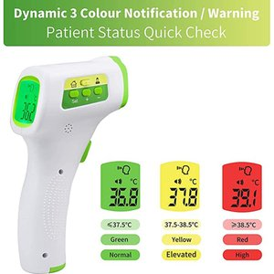 2020 New Thermometer Gun Digital Body Temperature Measurement Non-Contact Infrared Forehead Thermometer Drop Shipping