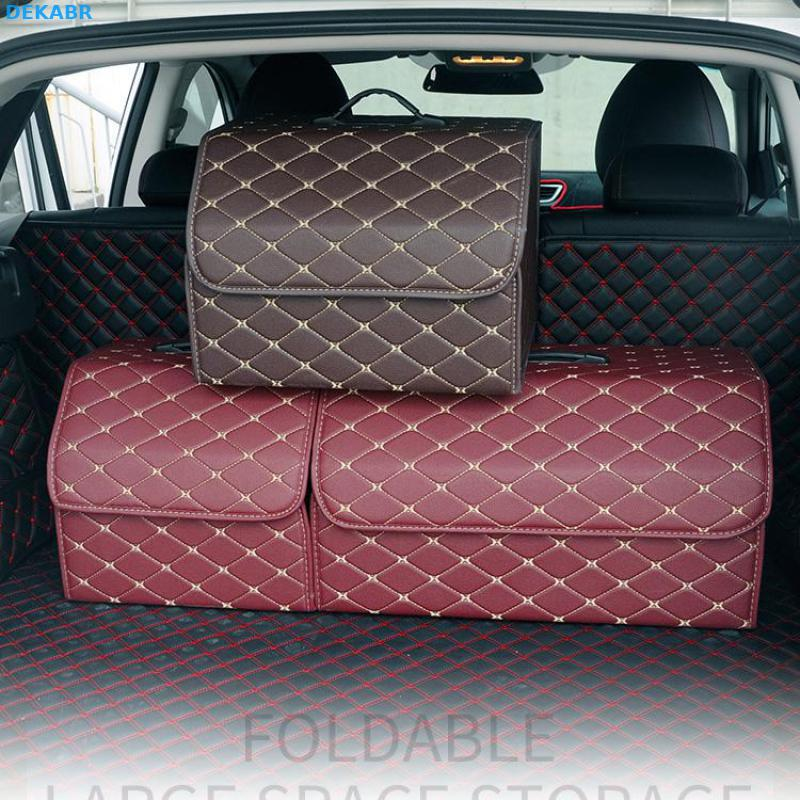 Universal Car Trunk Organizer Tidying Storage Box Car Trunk Bag Accessories 1Pcs