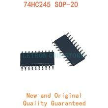 10 шт. 74HC245 SOP-20 SN74HC245NSR HC245 SOP20 5,2 мм SOIC-20 SOIC20 SMD новый и оригинальный чипсет IC