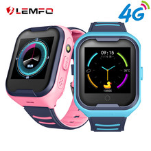LEMFO 4G Baby Smart Watch Kids GPS Wifi LBS Positioning IP67 Waterproof 650mah Battery Camera Take Video Smartwatch For Children(China)