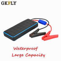 GKFLY IP65 a prueba de agua 1000A 12V arranque de coche banco de energía portátil gasolina diésel batería de coche Booster Dispositivo de cables de inicio