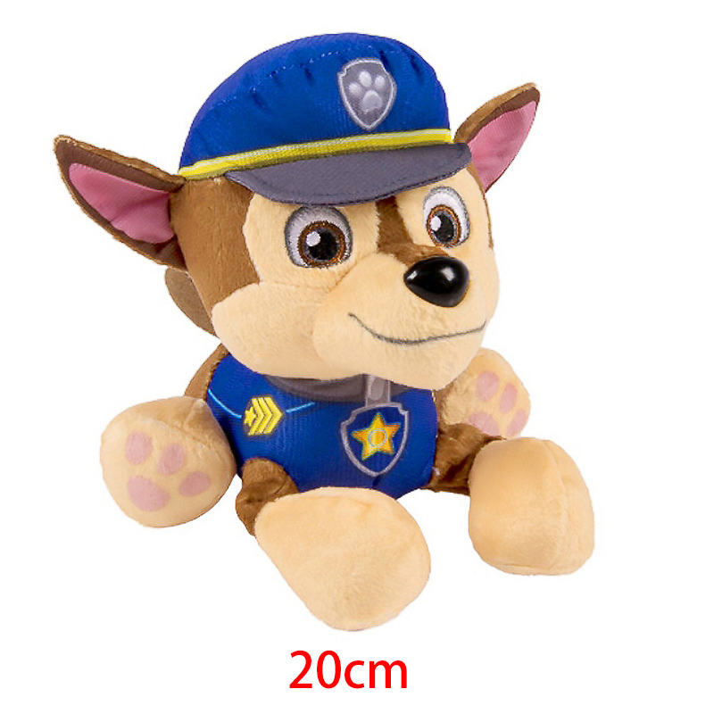 Paw Patrol Ryder Everest Tracker Cartoon Animal Stuffed Plush Toys Model Patrols Toys Party Dolls For Child Birthday Xmas Gift 4