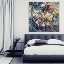 Wassily Kandinsky Wall Art Canvas Posters And Prints Canvas Painting Decorative Pictures For Office Living Room Home Decoration