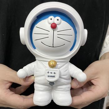 [VIP] 16cm rzemiosło Anime Dora emon przestrzeń człowiek skarbonka figurka kot astronauta posąg z żywicy model ozdoby do domu ozdoby tanie i dobre opinie NoEnName_Null Dla osób dorosłych Adolesce 4-6y 7-12y 12 + y CN (pochodzenie) Unisex Wyroby gotowe Zachodnia animacja Produkty na stanie
