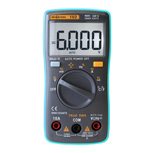 Multimeter Frequency-Diode Temperature-Rm101 Ohm AC/DC 6000 Counts 102 Back-Light