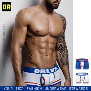 Image 5 - หรือชุดชั้นในแบรนด์ตาข่ายชุดชั้นในบุรุษผ้าฝ้ายนักมวยกางเกงในกางเกงนักมวยกางเกงขาสั้นกางเกงในชายเซ็กซี่ชาย Underwears cueca