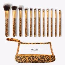 Docolor Леопард Стиль 12 шт кисти для макияжа Косметическая