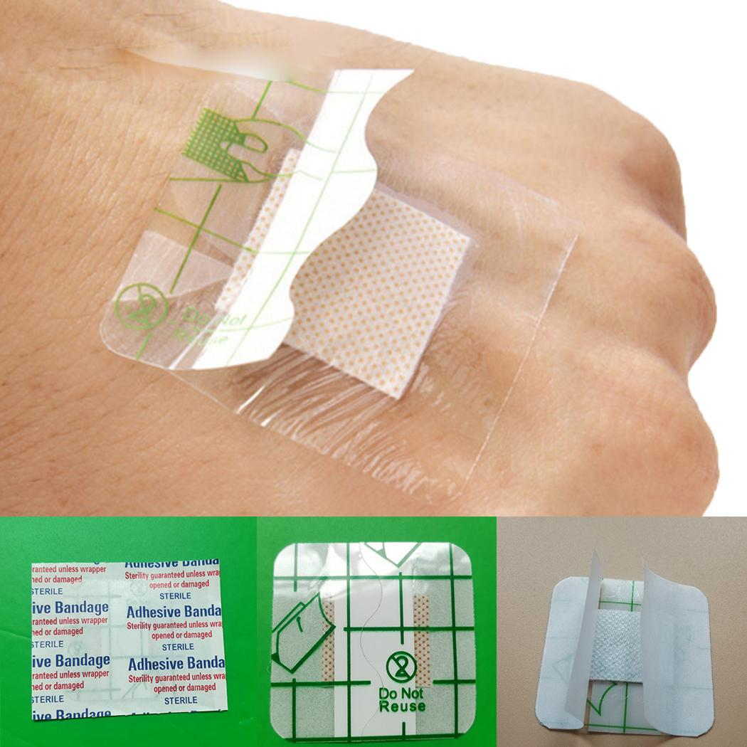 Medical Adhesive Square Wound Sticker Waterproof First Aid As Picture Care
