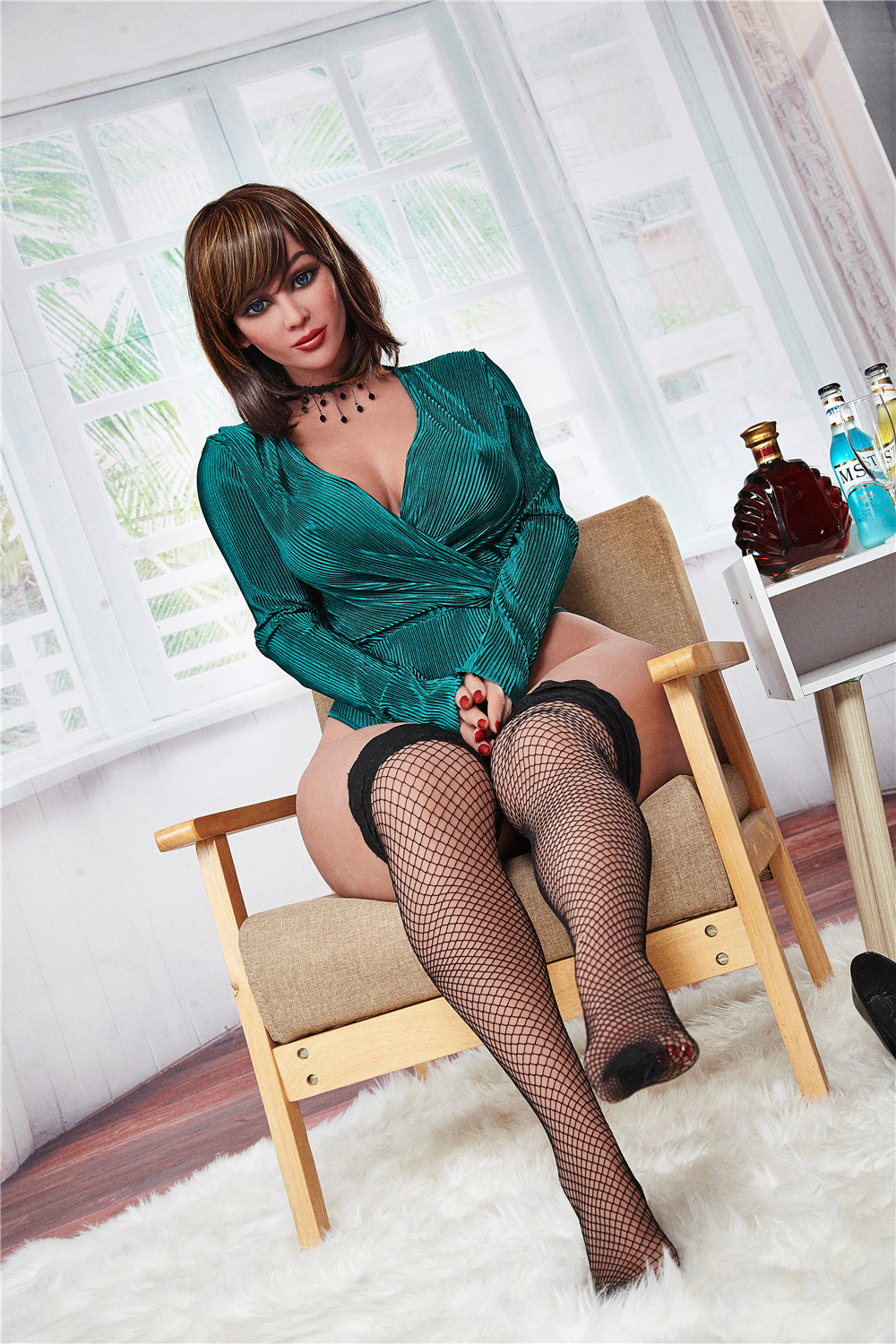 156cm 203#  Real Sex Dolls For Man Size Of Life Full TPE With Metal Skeleton Lifelike American Perfectl Body Sex Doll