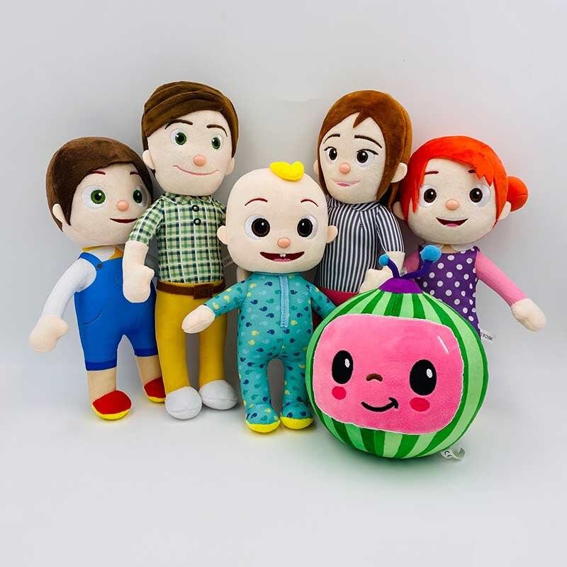 Melon JJ Plush Cocomelon Toys Kids Gift Cute Stuffed Toy Educational Plush Doll 5