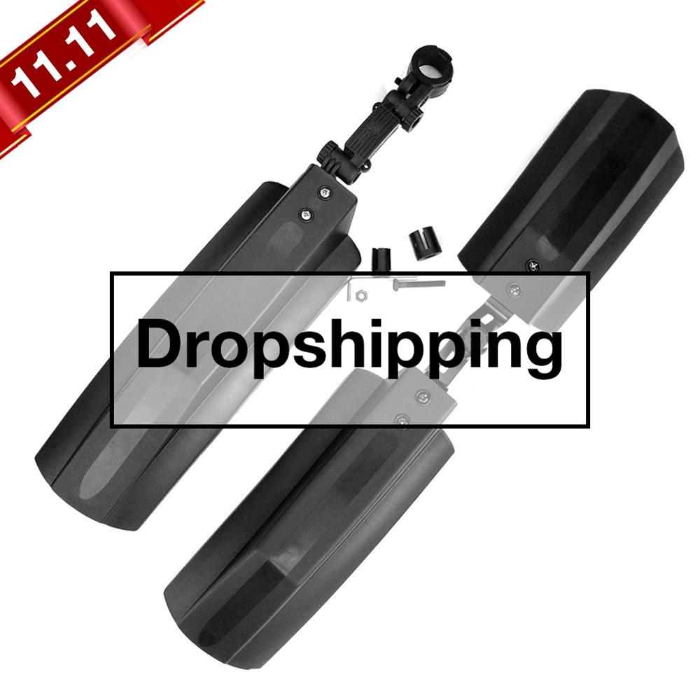 2pcs Snow Bicycle Mudguard Fat Bike Fender Front Rear Mud Guard For 20 Inch 26inch Fatbike MTB Bikes Cycling Bicycle Fenders