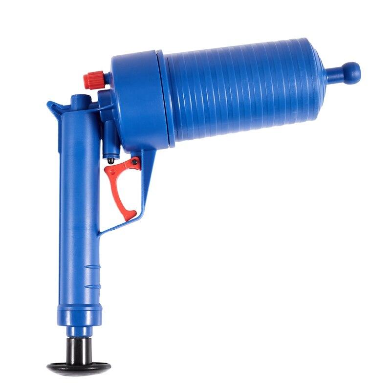Strict Air Power Drain Blaster Gun High Pressure Powerful Manual Sink Plunger Opener Cleaner Pump For Bath Toilets Bathroom Shower Kitc