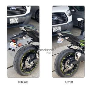 Image 5 - Motorcycle Fender License Holder Eliminator License Plate Frame Bracket For KAWASAKI Z900 Z 900 2017 2018 2019 2020