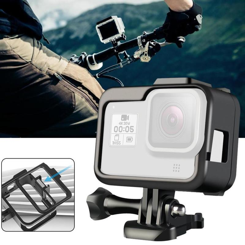 Portable Aluminum Frame Case Housing Shell For Gopro Hero 8  Metal Frame For Gopro Hero 8 Protective Action Camera Accessories