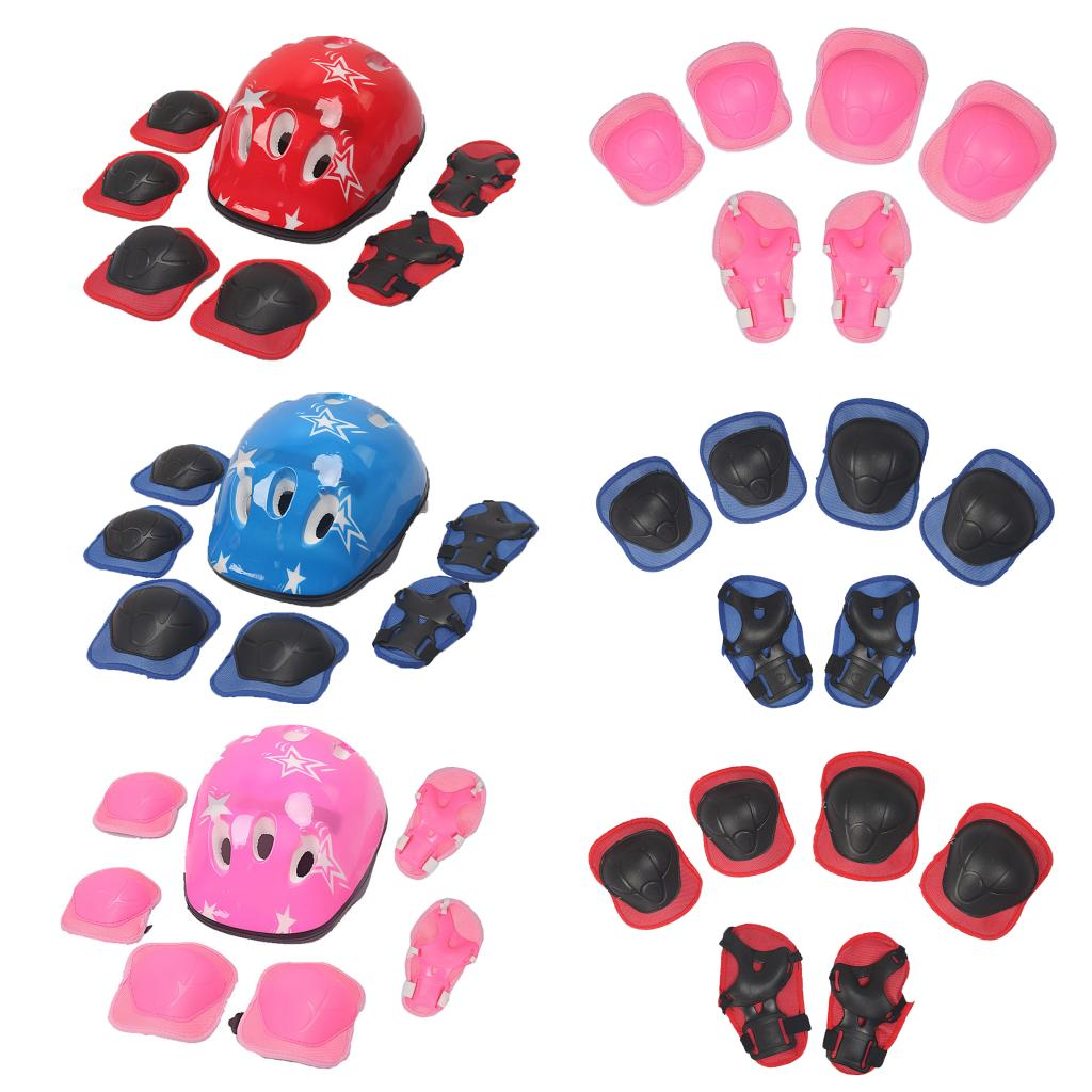 Kid Wrist Knee Elbow Protector Roller Skating Skateboard Outdoor Sport Guard Pad Sports Safety Gear