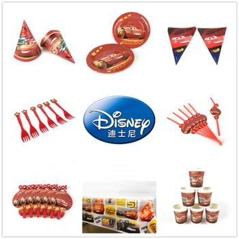 Cars Disney Kids Birthday Party Decoration Balloon High Quality Cups Plates Baby Shower Disposable Tableware Supplies lego blocks theme disposable tableware set paper plates cups baby shower birthday party supplies decoration for kids