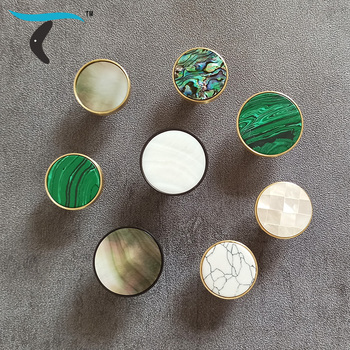 Quality luxury natural shell brass furniture handle kitchen wardrobe shoebox pulls drawer round knobs Colorful Wall Hook LT0188 азбука по слогам кот