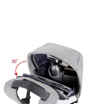 1 pcs Backpack Durable Energy-saving Exquisite Delicate Useful Solar Backpack for Backpacker Student Knapsacking 4