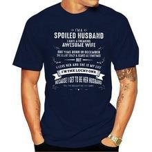 Camiseta homens 2020 forma um marido tenho uma má roupa