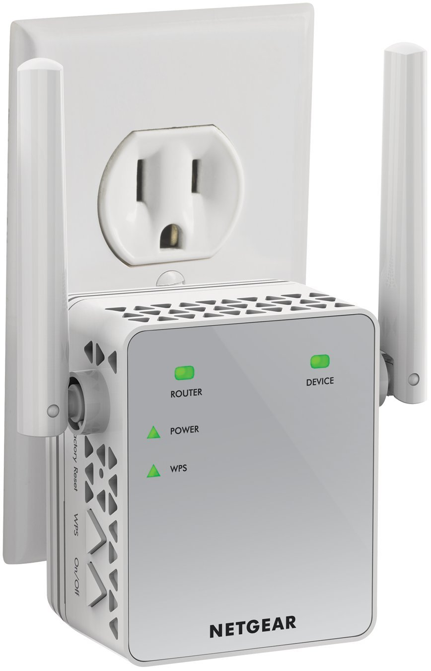 WiFi Range Extender EX3700 - Coverage Up To 1000 Sq.ft. And 15 Devices With AC750 Dual Band Wireless Signal Booster & Re