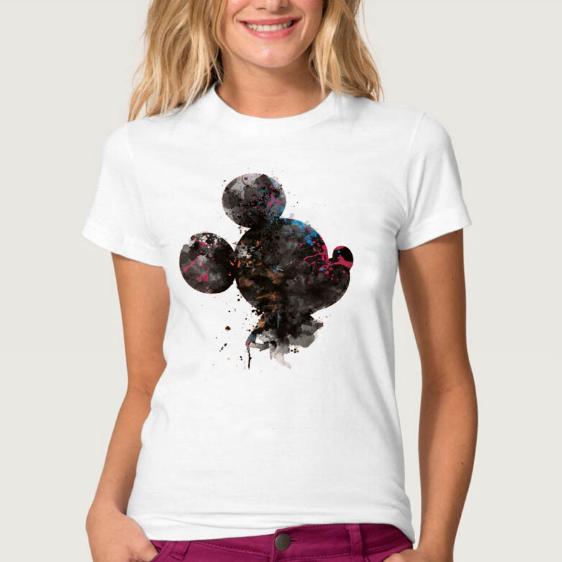 Women Tshirts Flower Vintage Style Summer Tee Female Ladies Casual Tshirt Clothes T Shirt Short Sleeve T Tops