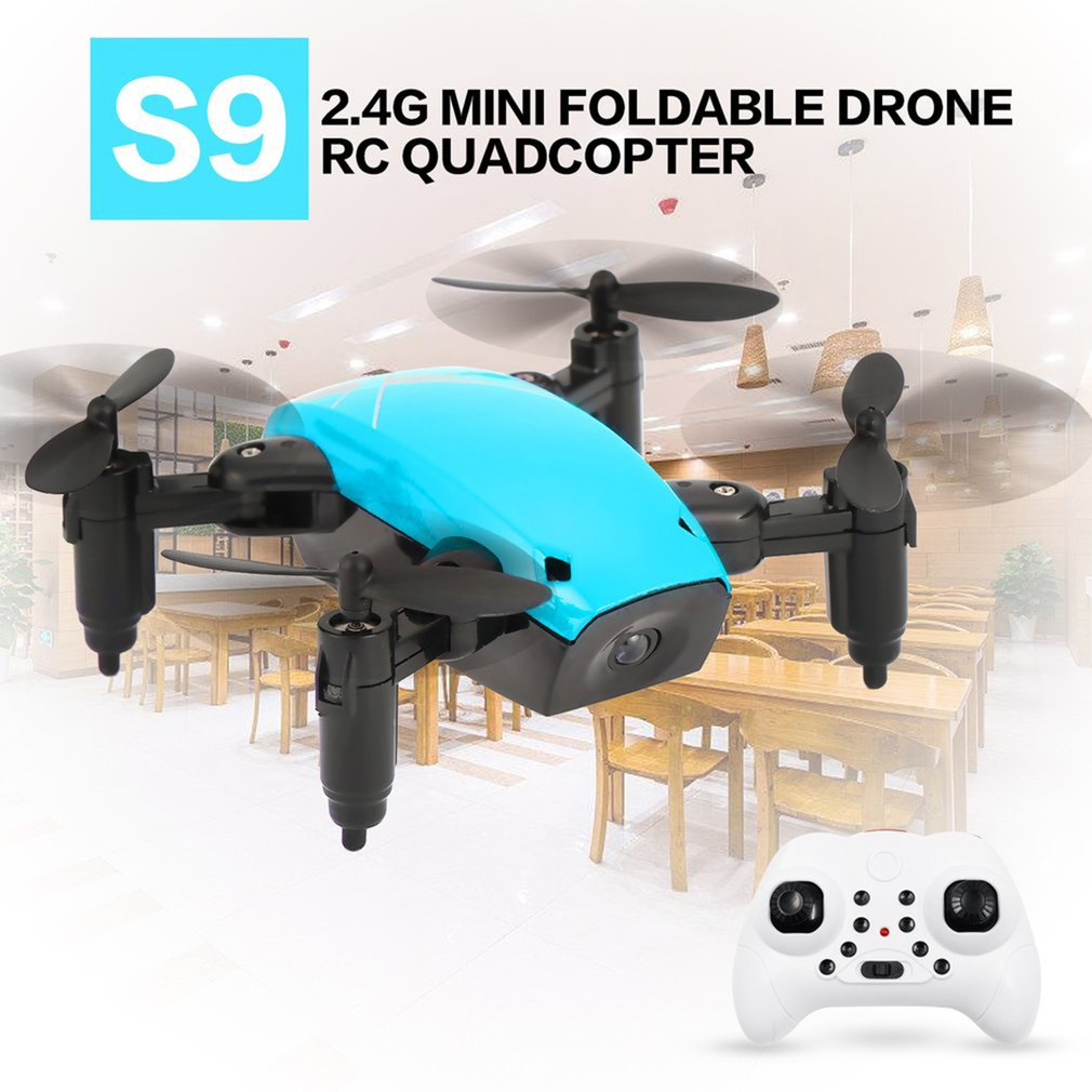 2 4Ghz Mini Foldable Drones RC Camera Drone 3D Flip One-Key Return Headless Mode Altitude Hold FPV WIFI 720P HD RC Quadcopter