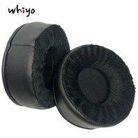 1 par de almohadillas de cuero de terciopelo para auriculares Superlux HD681EVO HD668B HD681 HD681B HD662|Accesorios de auriculares| |  -