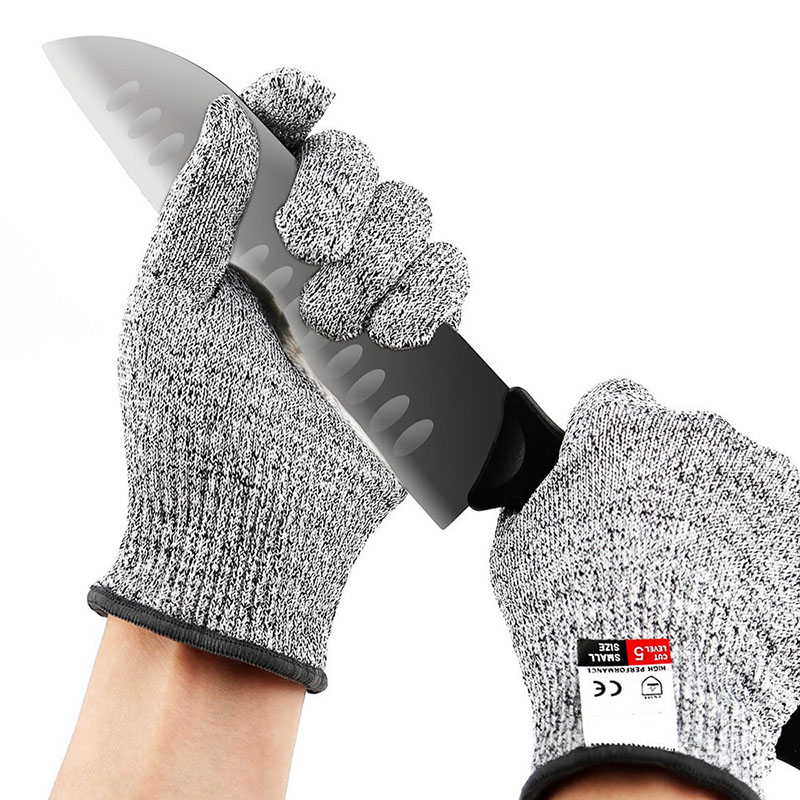Safety Anti Cut Gloves Cut Proof Stab Resistant Stainless Steel Wire Metal Mesh Kitchen Butcher Cut-Resistant Tactical Gloves