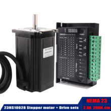 Nema 23 Stepper-Motor Robot Motor-260n.cm Dm542s-Driver 3d-Printer 23HS10028 57BYGH 4-Lead
