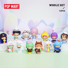 Pop mart momiji explorar para toda a caixa collectible bonito ação kawaii presente criança brinquedos de plástico figura frete grátis
