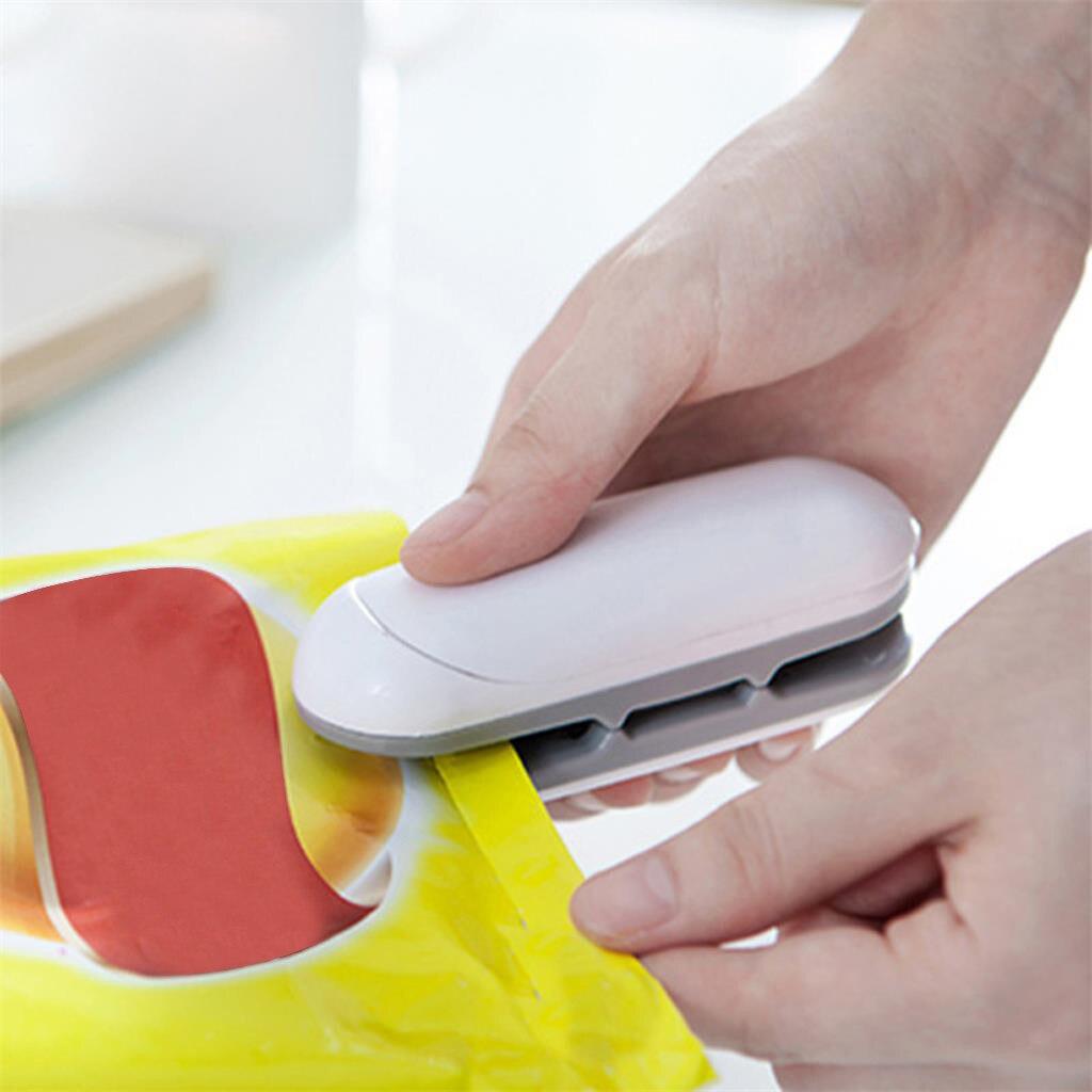 Mini  Bag Clips  Food Heat Sealing Machine Plastic Portable Packing Bag Sealer P