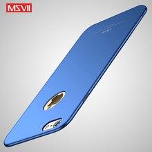 Для iphone 6 s plus чехол Msvii Coque для iphone 6 S Plus чехол 6 6 s Plus PC Scrub Cover для iphone 6 6Plus Чехлы для iphone6 Cover