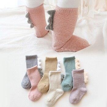 Kaus kaki Bayi Dinosaurus Halus  1