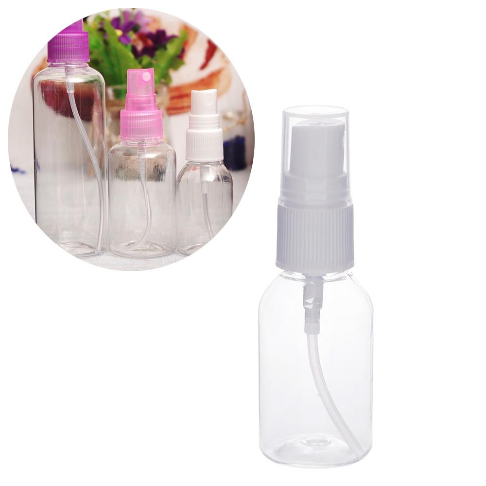 30/50/100 ml leere Spray flasche transparent kunststoff reise Parfüm zerstäuber flasche Wasser spray Kosmetische parfüm container