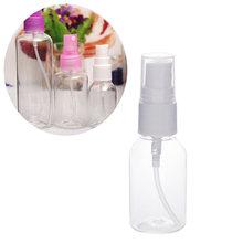 30/50/100 ml boş sprey şişesi şeffaf plastik seyahat fısfıslı parfüm şişe su sprey kozmetik parfüm kapları